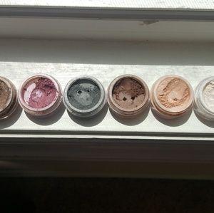 Six (6) Bare Minerals eyeshadows.